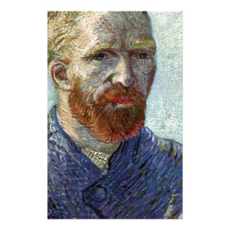 Van Gogh Self Portrait. Stationery