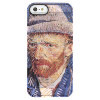 Van Gogh Self-Portrait with Felt Hat Permafrost® iPhone SE/5/5s Case