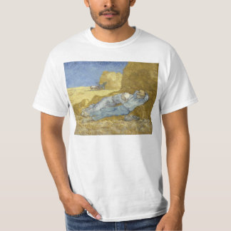 Van Gogh Siesta after Millet T-Shirt