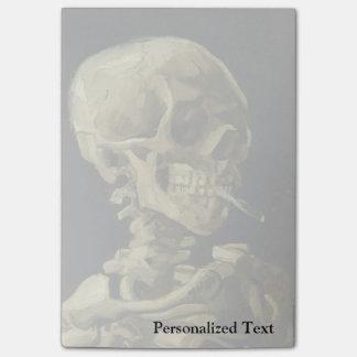 Van Gogh | Skull with Burning Cigarette | 1886 Post-it® Notes
