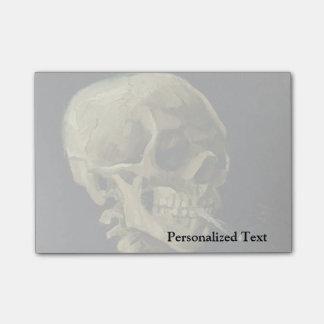 Van Gogh | Skull with Burning Cigarette | 1886 Post-it Notes