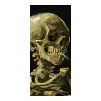 Van Gogh | Skull with Burning Cigarette | 1886 Rack Cards