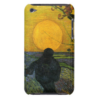 Van Gogh Sower With Setting Sun iPod Case Barely There iPod Covers