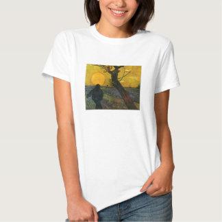 Van Gogh Sower With Setting Sun T-shirt