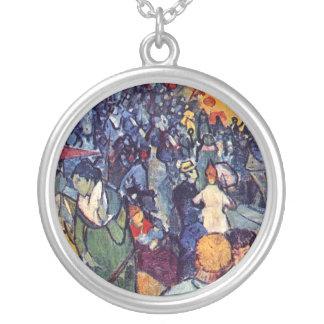 Van Gogh - Spectators In The Arena At Arles Necklace