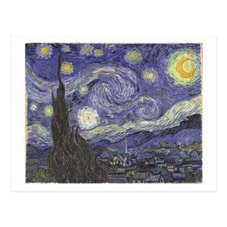 van Gogh - Starry Night (1889) Postcard