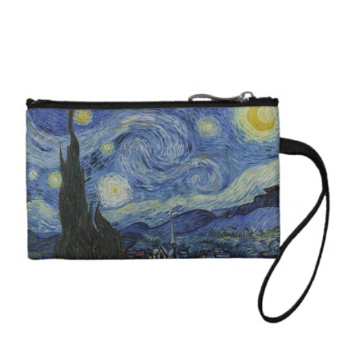 Van Gogh Starry Night bagettes bag Coin Purse