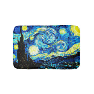 Van Gogh - Starry Night Bath Mat