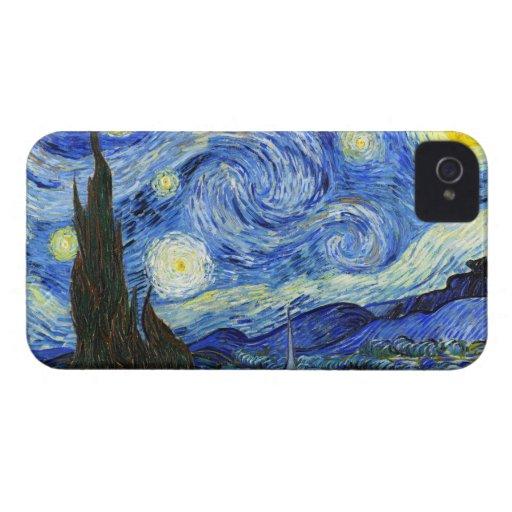 Van Gogh Starry Night Blackberry Bold Case