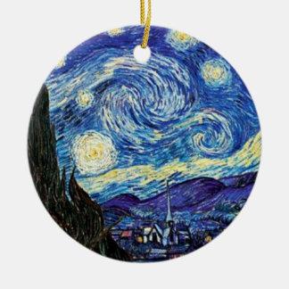 Van Gogh - Starry Night Christmas Ornament