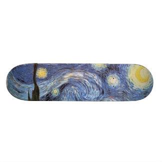 Van Gogh Starry Night Customized Skate Board