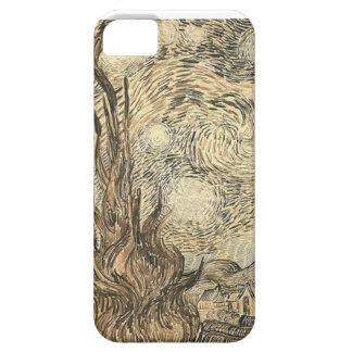 Van Gogh Starry Night Drawing iPhone 5 Case