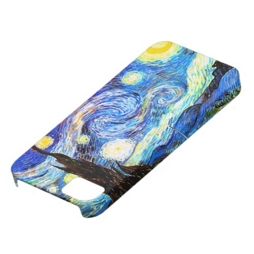 Van Gogh Starry Night (F612) Vintage Fine Art iPhone 5 Covers