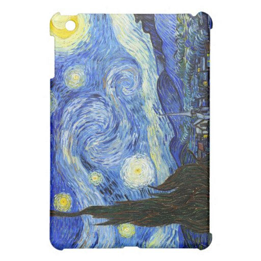 Van Gogh Starry Night Case For The iPad Mini