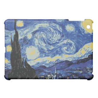 Van Gogh - Starry Night iPad Mini Cases
