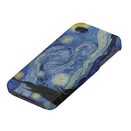 Van Gogh Starry Night iPhone 4/4S Covers