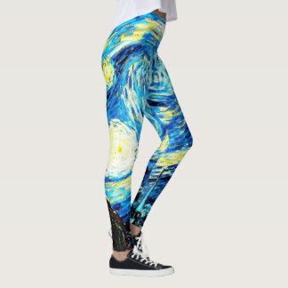 Van Gogh - Starry Night Leggings