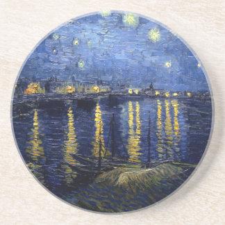 Van Gogh Starry Night Over Rhone Coaster