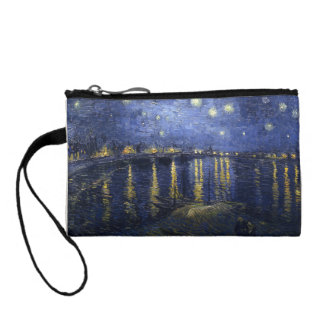 Van Gogh | Starry Night Over The Rhone | 1888 Change Purse