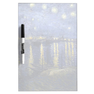Van Gogh | Starry Night Over The Rhone | 1888 Dry-Erase Whiteboards
