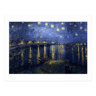 Van Gogh | Starry Night Over The Rhone | 1888 Postcard