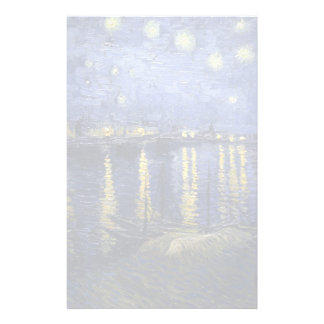 Van Gogh | Starry Night Over The Rhone | 1888 Stationery Paper