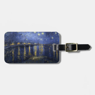 Van Gogh | Starry Night Over The Rhone | 1888 Travel Bag Tags