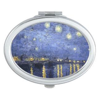 Van Gogh | Starry Night Over The Rhone | 1888 Travel Mirrors
