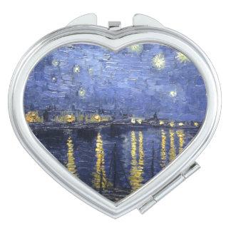 Van Gogh | Starry Night Over The Rhone | 1888 Vanity Mirror