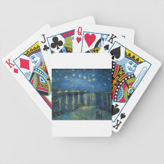 Van Gogh: Starry Night Over the Rhone Bicycle Playing Cards