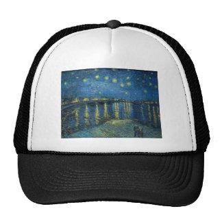Van Gogh: Starry Night Over the Rhone Cap
