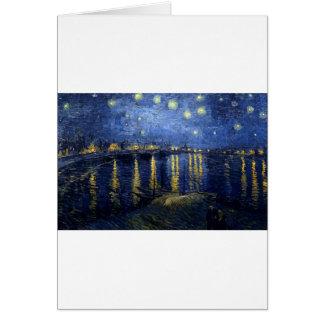 Van Gogh: Starry Night Over the Rhone Card