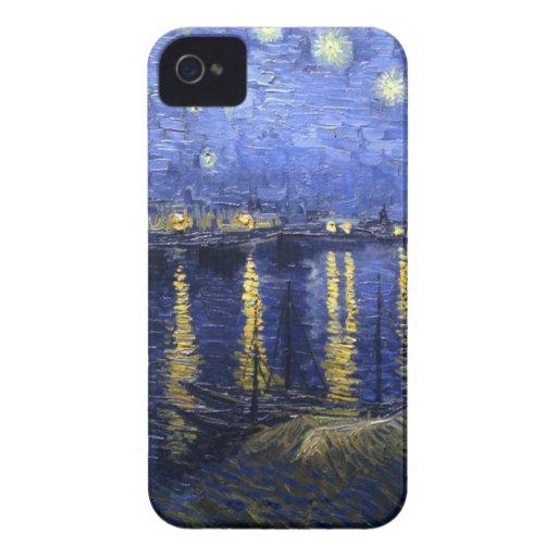 Van Gogh: Starry Night Over the Rhone Blackberry Bold Cases