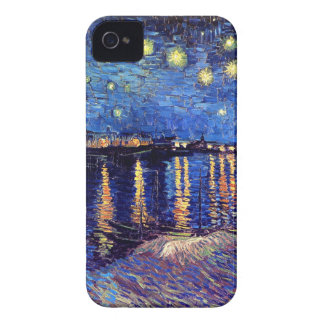 Van Gogh - Starry Night Over The Rhone Case-Mate iPhone 4 Cases