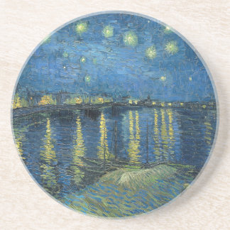Van Gogh: Starry Night Over the Rhone Coaster