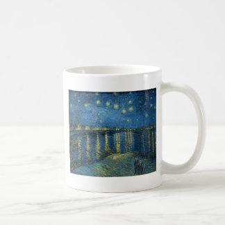 Van Gogh: Starry Night Over the Rhone Coffee Mug