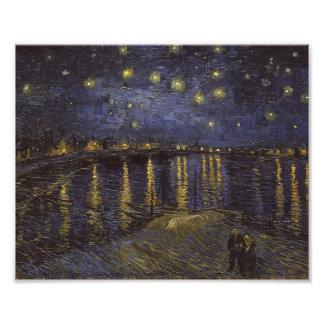 Van Gogh Starry Night Over The Rhone Fine Art Photo