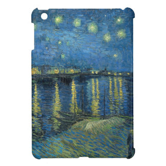 Van Gogh: Starry Night Over the Rhone iPad Mini Covers