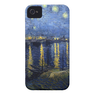 Van Gogh: Starry Night Over the Rhone iPhone 4 Cover