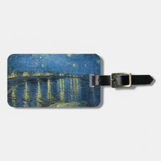 Van Gogh: Starry Night Over the Rhone Luggage Tag