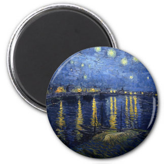 Van Gogh: Starry Night Over the Rhone Magnet