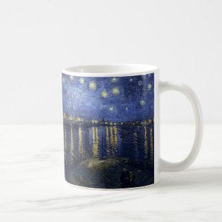 Van Gogh Starry Night Over the Rhone Coffee Mug