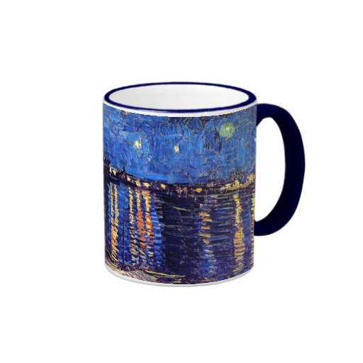 Van Gogh Starry Night Over The Rhone Mug