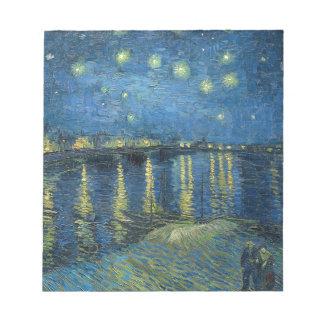 Van Gogh: Starry Night Over the Rhone Notepad