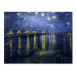 Van Gogh Starry Night Over The Rhone Post Cards
