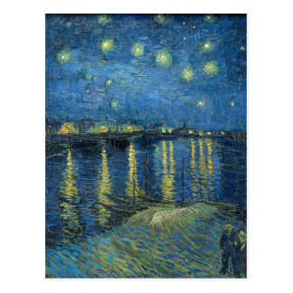 Van Gogh: Starry Night Over the Rhone Postcard
