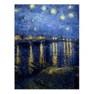 Van Gogh: Starry Night Over the Rhone Postcard