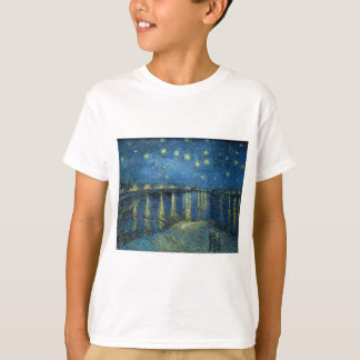 Van Gogh: Starry Night Over the Rhone T-Shirt