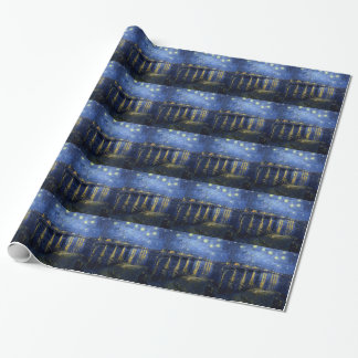 Van Gogh: Starry Night Over the Rhone Wrapping Paper