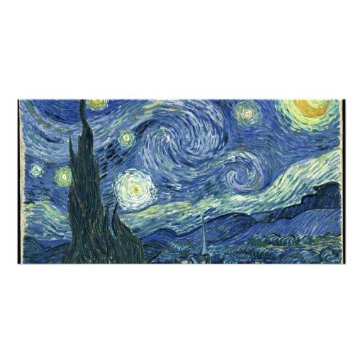 Van  Gogh Starry Night Photo Greeting Card